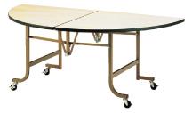 【 業務用 】業務用 フライト 半円テーブル FHS1500 【 メーカー直送/代金引換決済不可 】