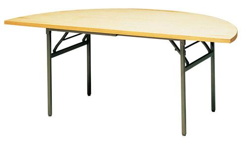 【 業務用 】業務用 KB型 半円テーブル KBH1800 【 メーカー直送/代金引換決済不可 】