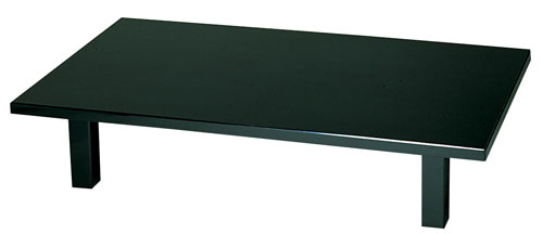 【 業務用 】軽量座卓 ウルミ石目  1500×900×H330mm