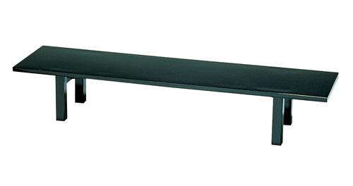 【 業務用 】宴会机 黒乾漆調メラミンTS46-08K1200×450×H320mm