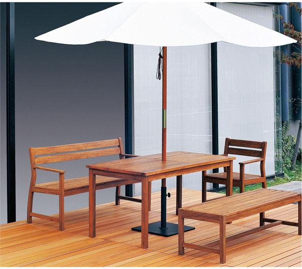【 業務用 】チークベンチ 背ナシ  TE-1500S