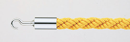 【 業務用 】パーティションロープ Aタイプ 30C イエロー 【 メーカー直送/代金引換決済不可 】