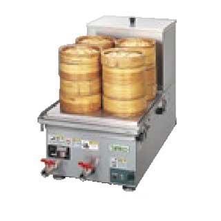 【 業務用 】タニコー 卓上電気蒸し器 THM-3400ET 【 メーカー直送/後払い決済不可 】