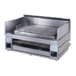 【 業務用 】タニコー 万能焼き物器 TMG-081G【 業務用ステンレス台 調理台 】【 メーカー直送/後払い決済不可 】