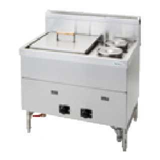 【 業務用 】 タニコー 湯がき槽付湯煎器 TYU-90 都市ガス【 メーカー直送/後払い決済不可 】【厨房館】