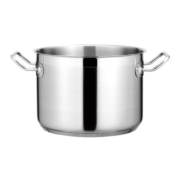 【まとめ買い10個セット品】 KYS NEWPRO IH半寸胴鍋(蓋無) 22cm 【厨房館】