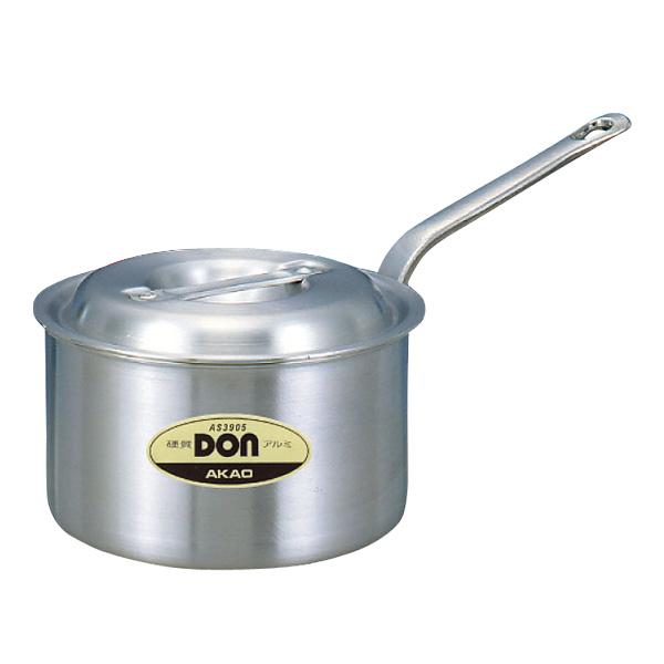 【まとめ買い10個セット品】 DON アルミ 片手鍋 15cm【AKAO アカオ 【業務用】腐食しにくい光沢のある表面仕上げ 汚れにくく 洗いやすい】【厨房館】