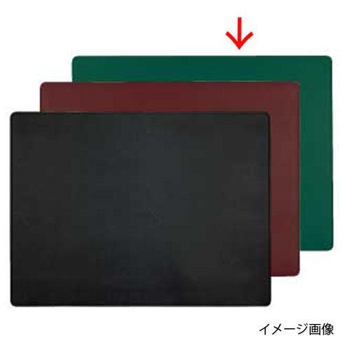 【まとめ買い10個セット品】 シンビ デスクマット GL-MAT 緑