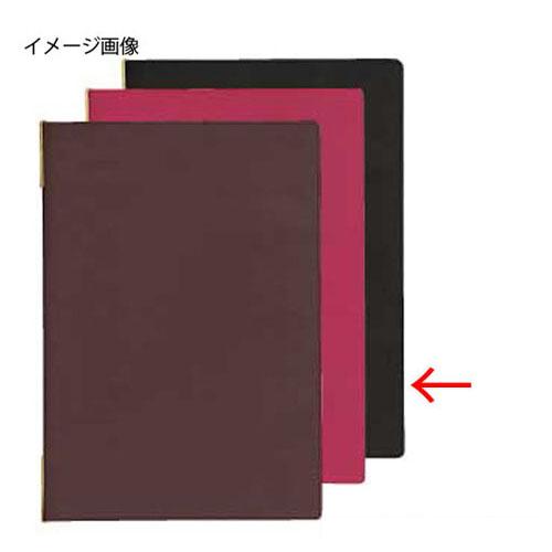 【まとめ買い10個セット品】 シンビ メニューブック LKM-101 黒