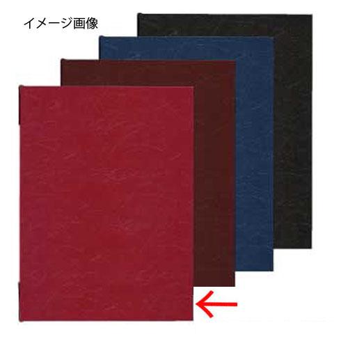 【まとめ買い10個セット品】 シンビ メニューブック UD-301 赤
