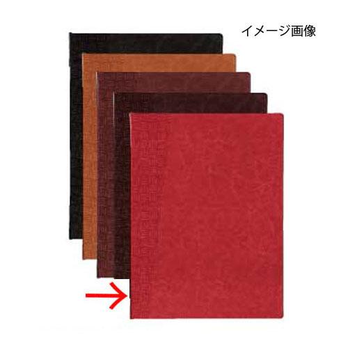 【まとめ買い10個セット品】 シンビ メニューブック TKO-101 (KAGOME) 赤