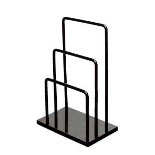 【まとめ買い10個セット品】 シンビ メニュースタンド SE-19(二段式) ブラック