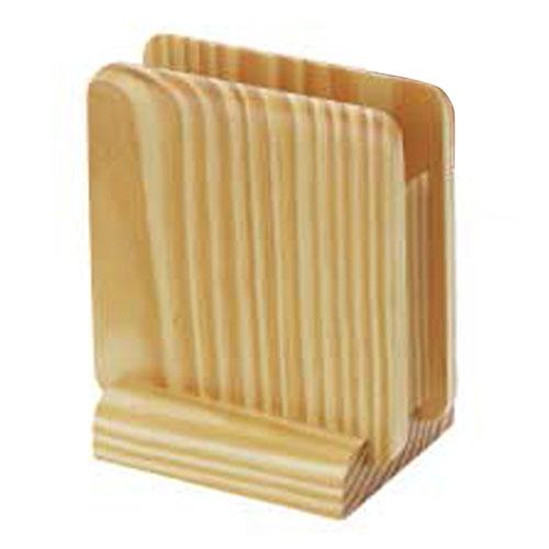 【まとめ買い10個セット品】 シンビ ナプキンスタンド PD-101 白木