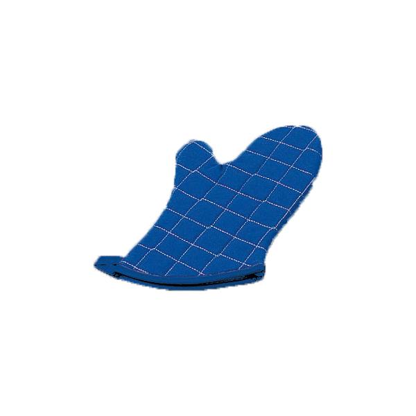 [KT-BFGS2-13] ブルー BFG-13 パービン カラーオーブンミット 13インチ (1枚) 【厨房館】 【まとめ買い10個セット品】