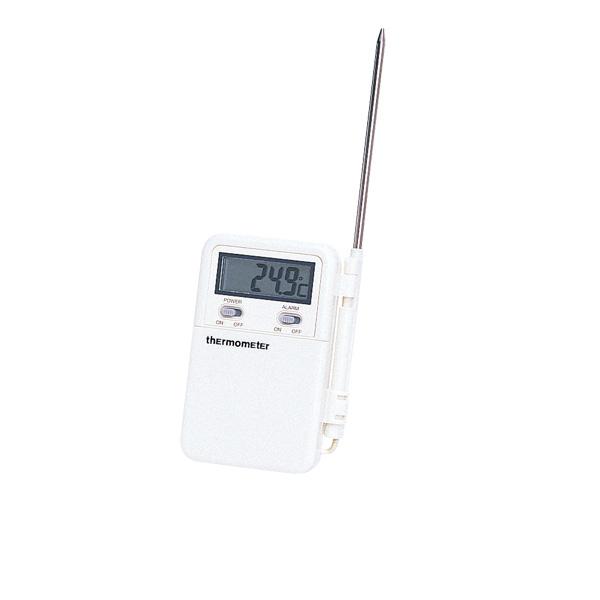 【まとめ買い10個セット品】 カスタム ポータブルデジタル温度計 CT-250 【厨房館】