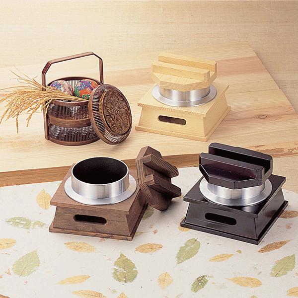 【まとめ買い10個セット品】 M10-219 釜めしセット(大) 焼杉 【厨房館】