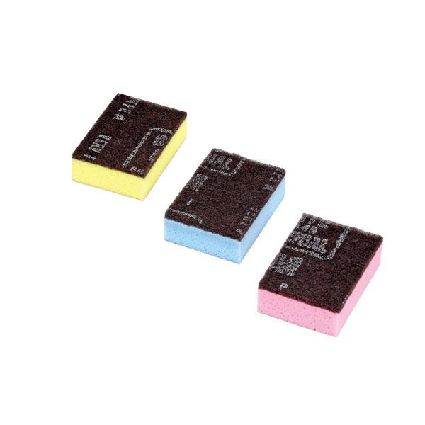 【まとめ買い10個セット品】 キクロンタワシ C (10個入) 3色アソート 【厨房館】