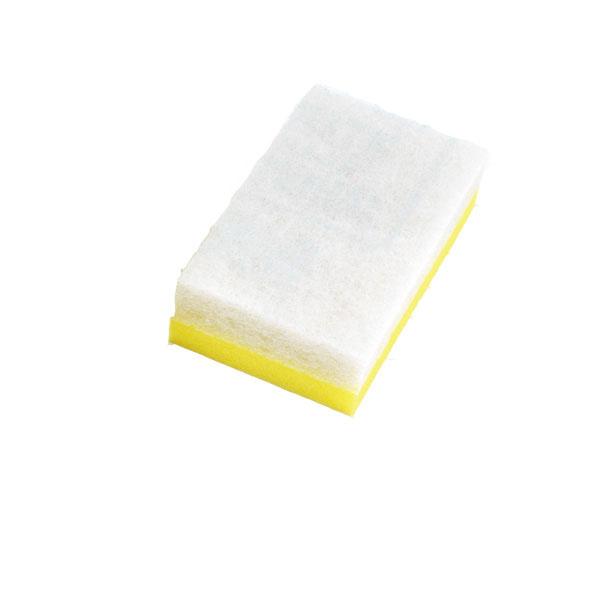 【まとめ買い10個セット品】 3M ライトクリーニングたわしL 黄 (10個入) 【厨房館】