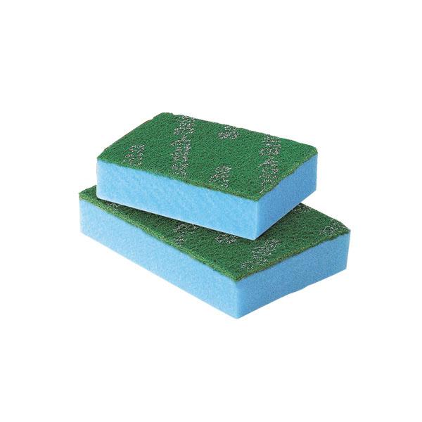 【まとめ買い10個セット品】 3M スポンジエース ブルー L (10個入) 【厨房館】