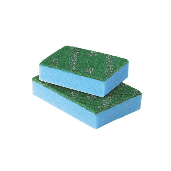 【まとめ買い10個セット品】 【即納】 3M スポンジエース ブルー S (10個入) 【厨房館】