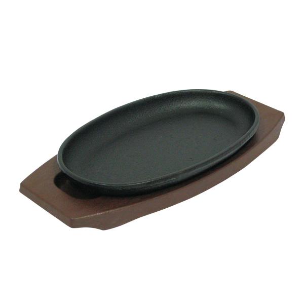 【まとめ買い10個セット品】 トキワ ステーキ皿 301小判小+樹脂製台 WP301S 【厨房館】
