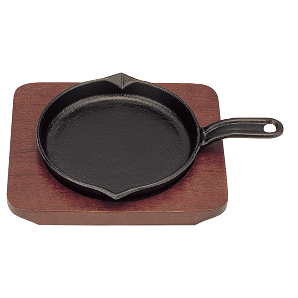 【まとめ買い10個セット品】 【即納】 三和 ミニステーキ皿 フライパン 13cm 【厨房館】