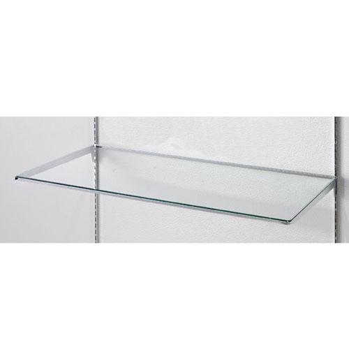 【まとめ買い10個セット品】 【 業務用 】10R ガラス棚セットW90cm インハングタイプ ガラス5mm厚 D45cm【店舗什器 パネル ディスプレー 棚 店舗備品】【厨房館】
