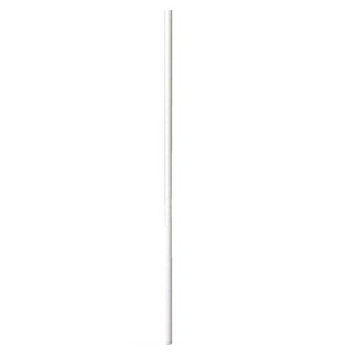 【まとめ買い10個セット品】 【 業務用 】ワイヤーラック ホワイト ポール(φ25.4mm) H180cmタイプ 2本【店舗什器 パネル ディスプレー 棚 店舗備品】【厨房館】