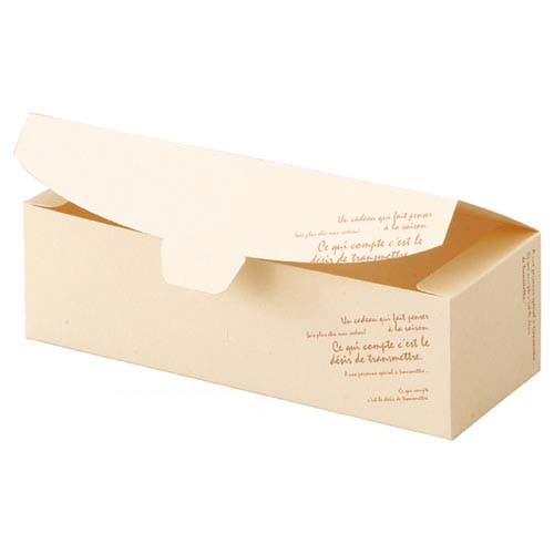 【まとめ買い10個セット品】 再生紙ギフトボックス クリームソフト 23.5×9×7 20枚【店舗什器 小物 ディスプレー ギフト ラッピング 包装紙 袋 消耗品 店舗備品】【厨房館】