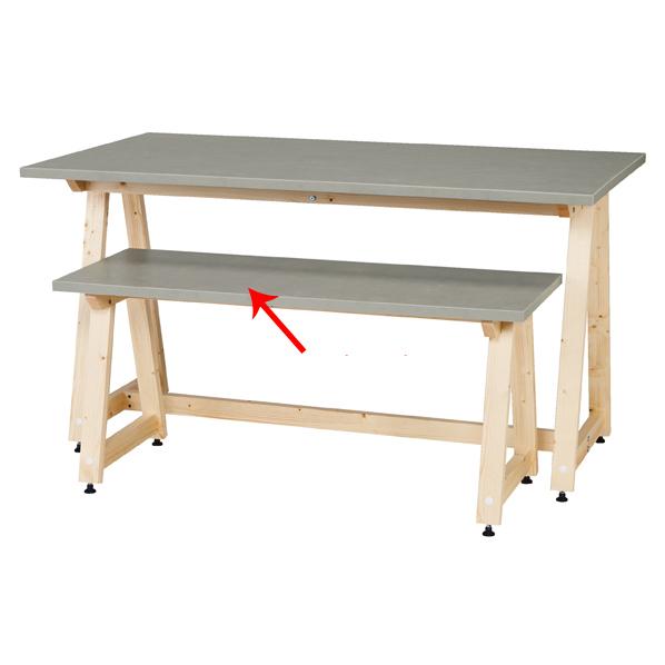 【まとめ買い10個セット品】 DELTAローテーブル W120cm 【厨房館】