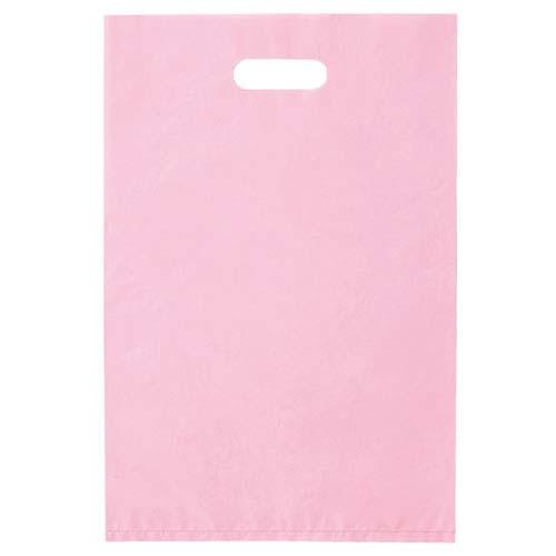 【まとめ買い10個セット品】 ポリ袋ハード型 カラー ピンク 40×50 1000枚【店舗什器 小物 ディスプレー ギフト ラッピング 包装紙 袋 消耗品 店舗備品】【厨房館】