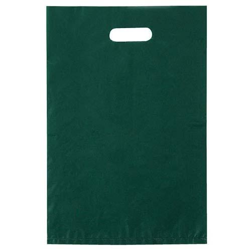 【まとめ買い10個セット品】 ポリ袋ハード型 カラー ダークグリーン 40×50 1000枚【店舗什器 小物 ディスプレー ギフト ラッピング 包装紙 袋 消耗品 店舗備品】【厨房館】