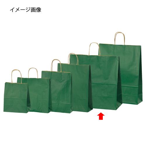 【まとめ買い10個セット品】 カラー手提げ紙袋 グリーン 45×22×45.5 200枚【店舗什器 小物 ディスプレー ギフト ラッピング 包装紙 袋 消耗品 店舗備品】【厨房館】