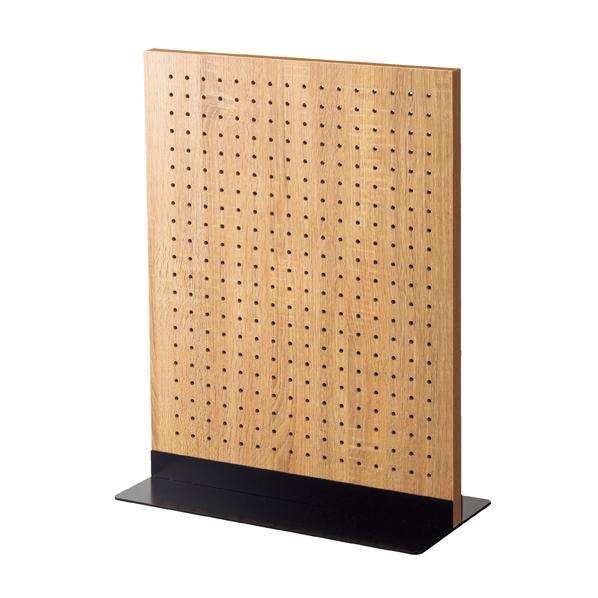 【まとめ買い10個セット品】 両面有孔パネルS 60×45cm ラス+ベースブラック 【厨房館】