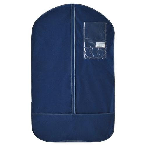 【まとめ買い10個セット品】 テーラーバッグ US型 紺 10枚【店舗什器 小物 ディスプレー ハンガー店舗備品】【厨房館】