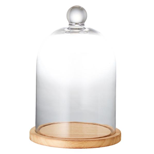 【まとめ買い10個セット品】 ガラスドーム中1台 【厨房館】
