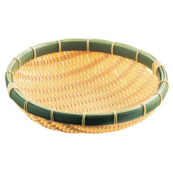 【まとめ買い10個セット品】 PP製円型ざる 直径30×H7cm 1個 【厨房館】