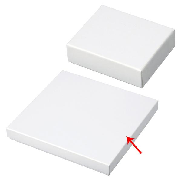 【まとめ買い10個セット品】 フェザーケース ホワイト 19.4×18.4×2.6cm 6個 【厨房館】