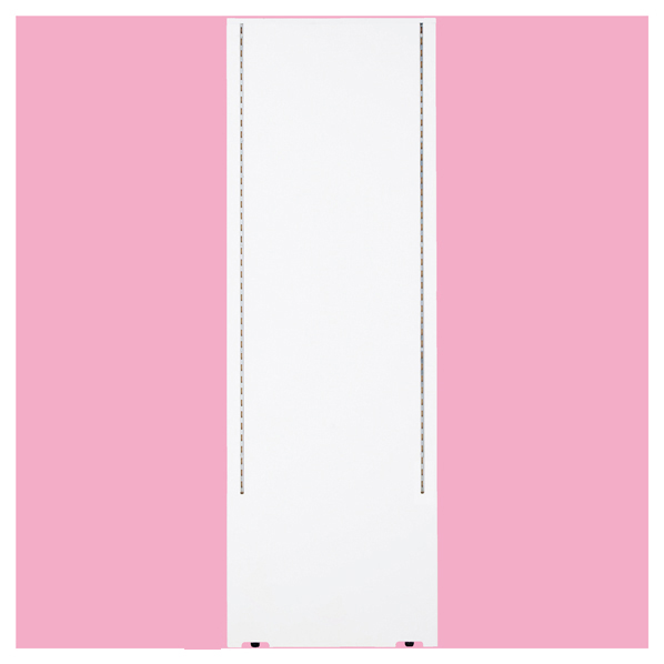 【まとめ買い10個セット品】 F-PANEL センター/エンドパネル D452 ホワイト (両面スリット仕様) 【厨房館】