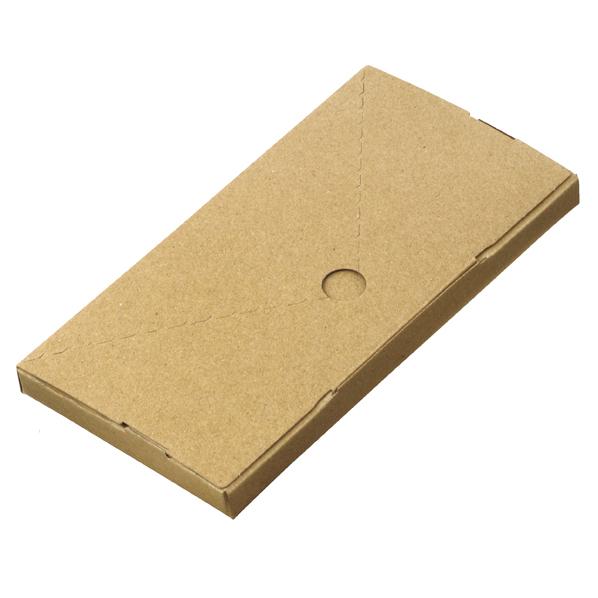 【まとめ買い10個セット品】 小型配送ボックス 長3 400枚 24.5×12.8×2cm 【厨房館】
