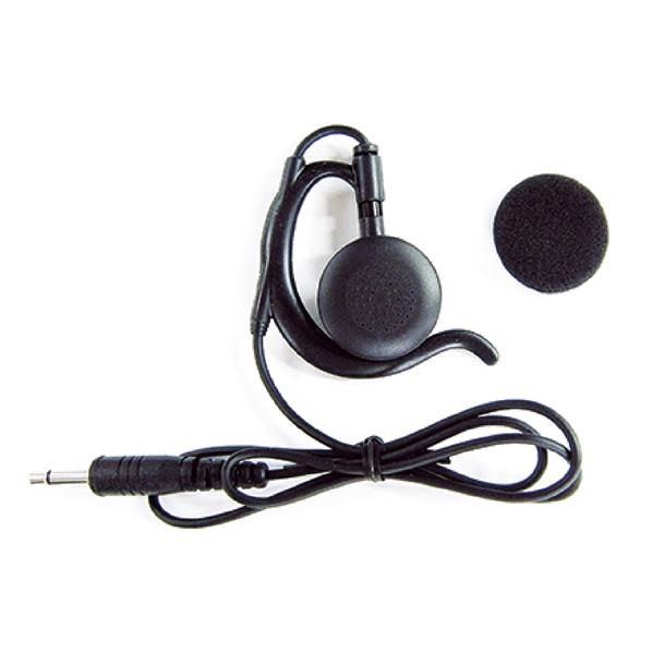 【まとめ買い10個セット品】 トランシーバーDJ-P×5 イヤホンマイク 耳カケ型 黒 【厨房館】