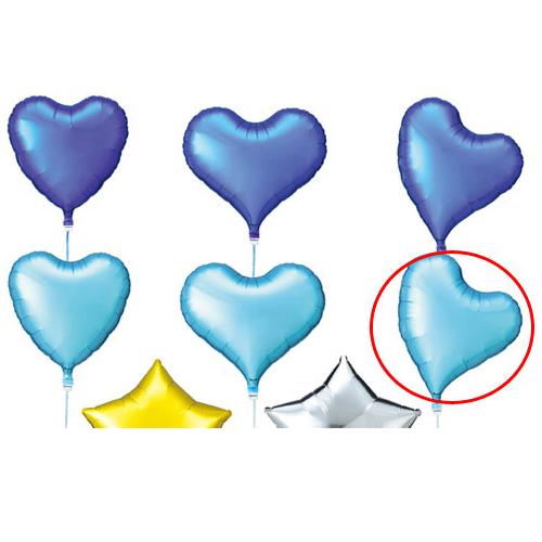 【まとめ買い10個セット品】 アイブレックスバルーン ウィートハートライトブルー 5個【店舗備品 店舗インテリア 店舗改装】【厨房館】