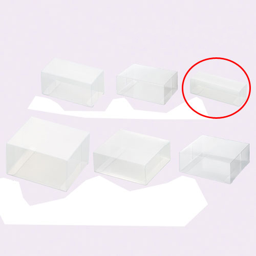 【まとめ買い10個セット品】 クリアボックス(ワンタッチ組立式) 12.5×4×4 10枚【店舗什器 パネル ディスプレー 小物 棚 店舗備品】【厨房館】