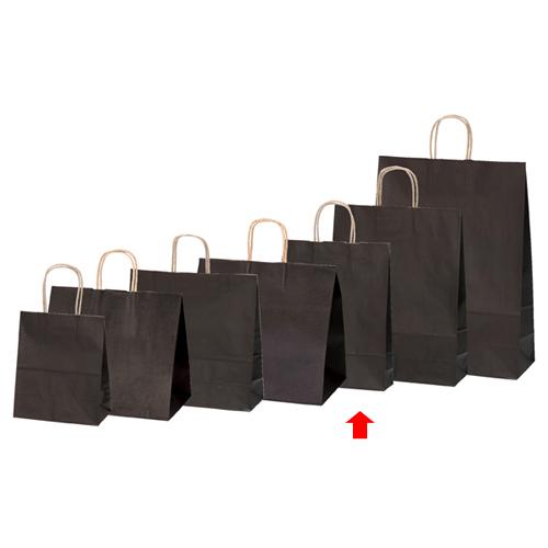 【まとめ買い10個セット品】 カラー手提げ紙袋 ブラウン 27×8×34 200枚【店舗備品 包装紙 ラッピング 袋 ディスプレー店舗】【厨房館】