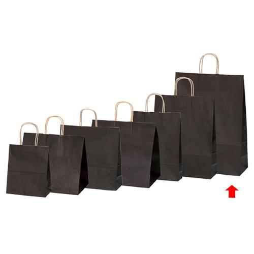 【まとめ買い10個セット品】 カラー手提げ紙袋 ブラウン 38×15×50 50枚【店舗備品 包装紙 ラッピング 袋 ディスプレー店舗】【厨房館】