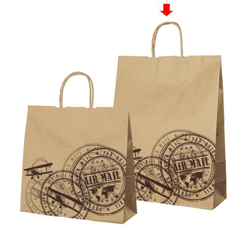 【まとめ買い10個セット品】 プレインスタンプ 32×11.5×41 50枚【店舗備品 包装紙 ラッピング 袋 ディスプレー店舗】【厨房館】