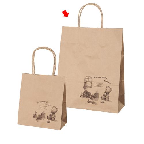 ギフト 26×11×33 600枚【店舗備品 包装紙 ラッピング 袋 ディスプレー店舗】【厨房館】