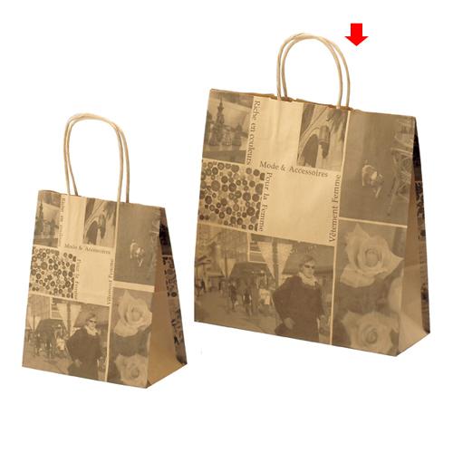 フォト 32×11×33 600枚【店舗備品 包装紙 ラッピング 袋 ディスプレー店舗】【厨房館】
