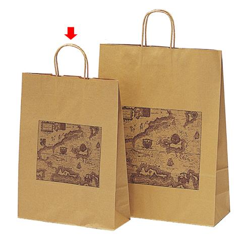 マップ 32×11×43 600枚【店舗備品 包装紙 ラッピング 袋 ディスプレー店舗】【厨房館】