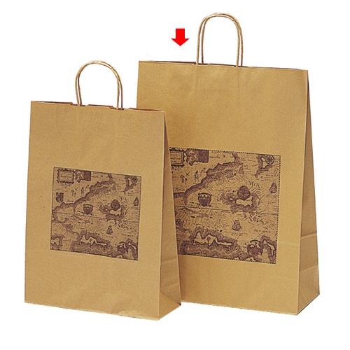 マップ 38×14.5×50 400枚【店舗備品 包装紙 ラッピング 袋 ディスプレー店舗】【厨房館】